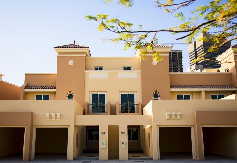 The 30 villas at Fortuna Villa are built around the 18-hole Els Club Championship golf course in Dubai Sports City.