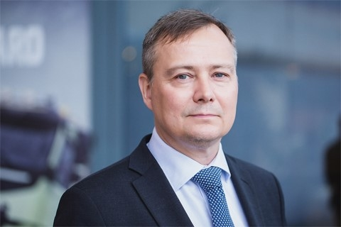 Carl Slotte, president for Volvo CE in the EMEA sales region, effective from October.