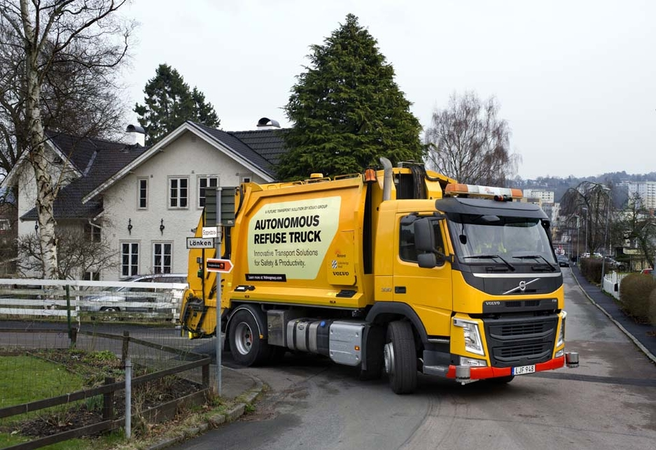 Volvo Group is testing the potential of deploying an autonomous self-driving waste disposal vehicle.