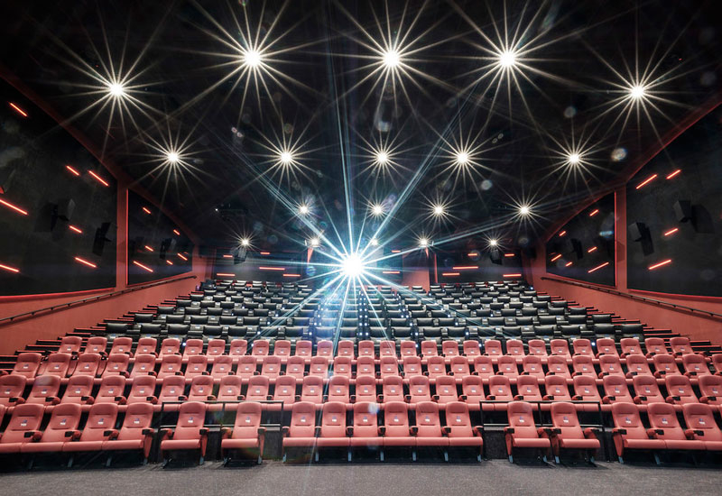 Havelock AHI delivered interiors and fit-out works for the Vox Cinemas facility at The Avenues  Bahrain [image: Havelock AHI].
