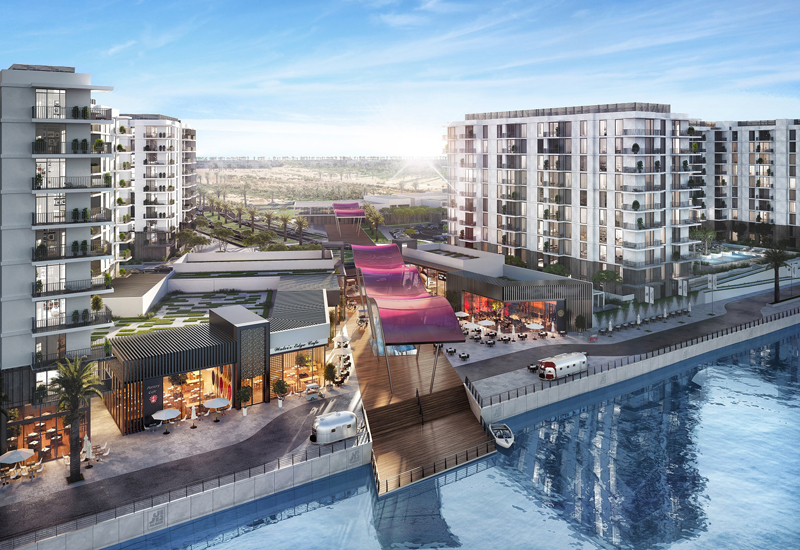 EllisDon has been awarded a PM consultancy contract by Aldar for Water's Edge.