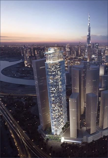 WOW Hotel and Hotel Apartments development in Dubai.