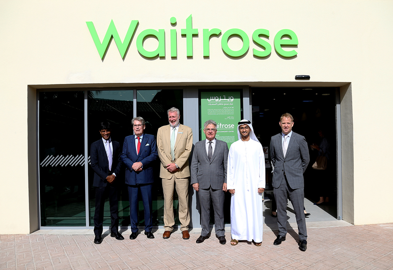 The centre features retail and dining outlets, including Waitrose supermarket which is now open to residents and visitors of the community.