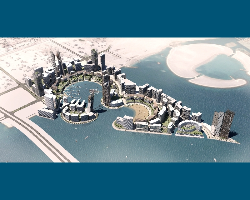 Water Garden City is located in Bahrain's Seef District.