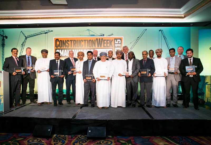 SPECIAL REPORTS, CW awards, Construction week awards, Construction Week Awards Oman, Construction Week Oman Awards 2016, CW Oman Awards 2016