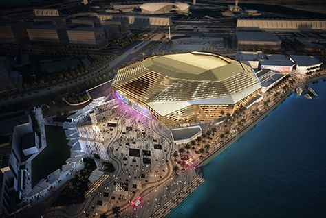 Yas Arena will be the UAE's first 18,000 capacity venue.