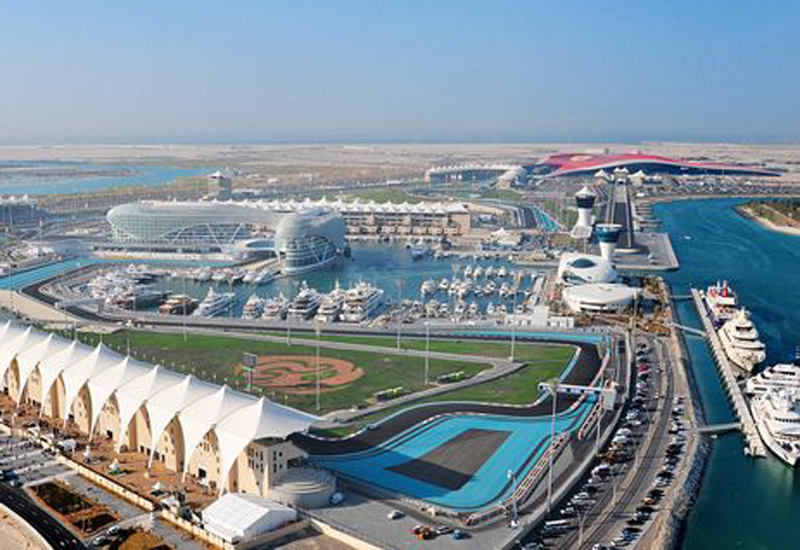 Miral's Yas Bay development will be located in the south of Abu Dhabi's Yas Island.