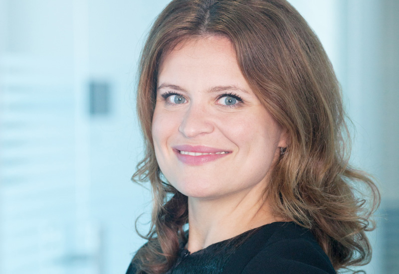 Yulia Gvozdeva, global product manager for building components at Jotun Powder Coatings.