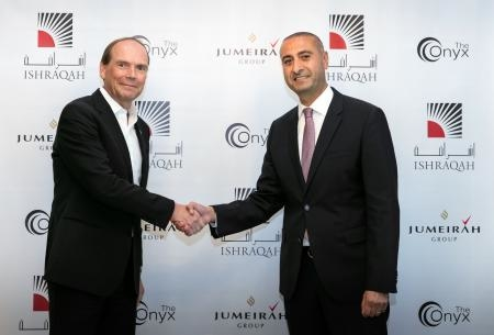 JumeirahTM brand signs management agreement with The Onyx for Development.