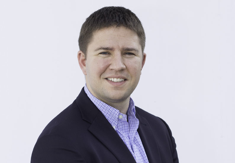 Zander Muego (above) has been promoted to the group board of Thomas & Adamson.