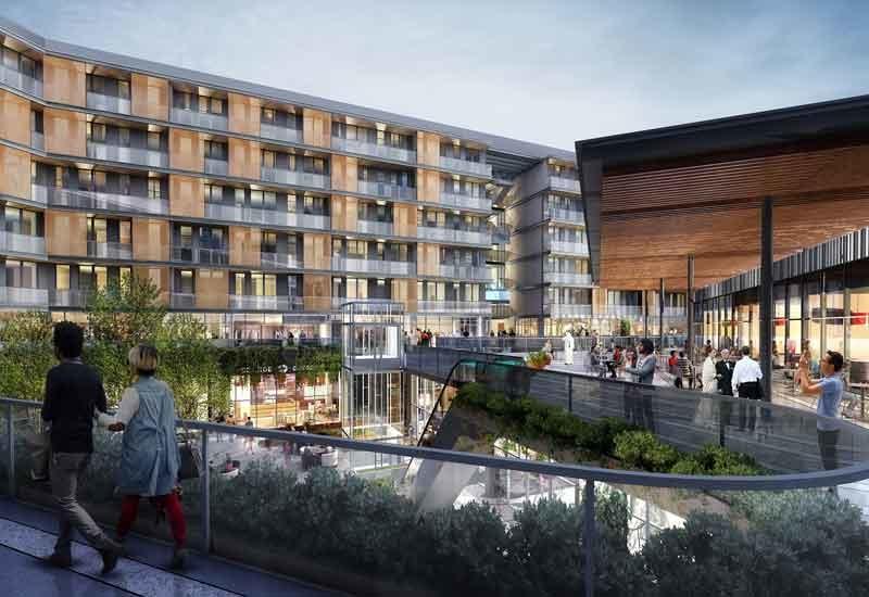 Chinese giant CSCEC has begun work on Union Properties' Zawaya development in Dubai Motor City.