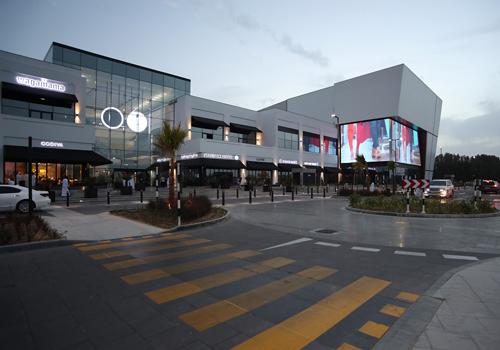 Zero 6 mall in Sharjah, UAE.