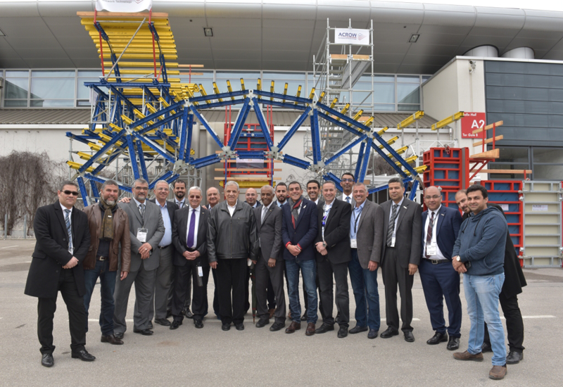 Acrow Misr was the only Egyptian exhibitor at this year's Bauma 2016.