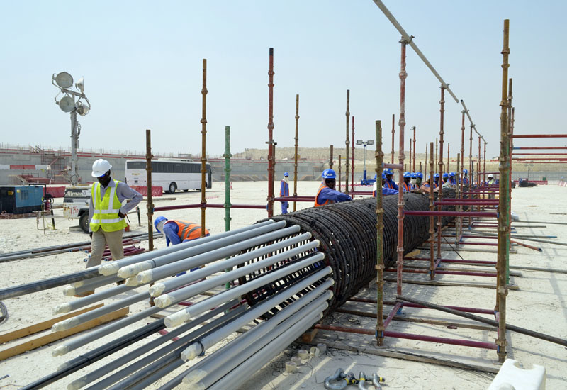 Qatar's construction companies are focusing on more medium-sized projects as a shortage of tendered projects arises.