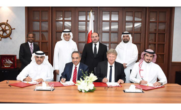 Tilke has signed a contract to provide consultancy services for an exhibition and conference centre project in Bahrain [image: BNA].