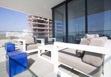 Balcony view at Palma Holding's Serenia Residences.