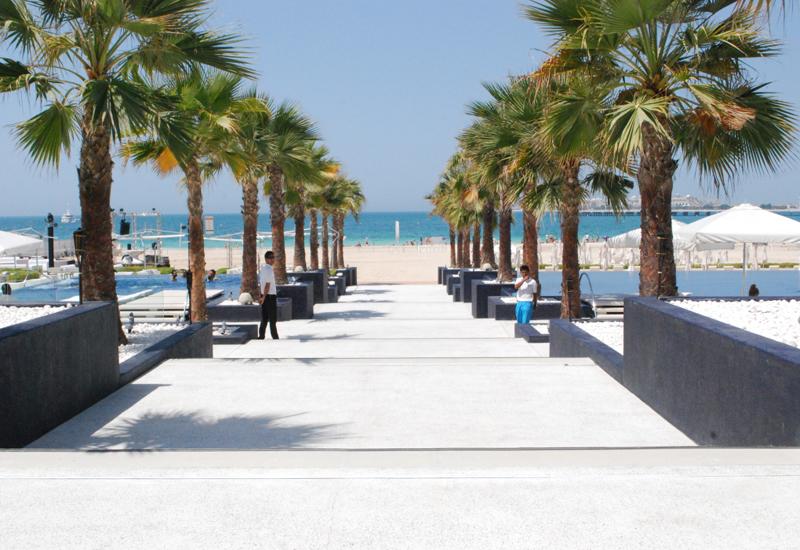 Representational image of a beach hotel in Dubai.