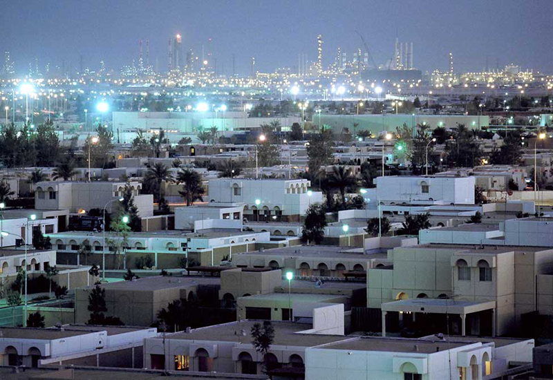 The Jubail industrial city development spans 1,016 sqkm.