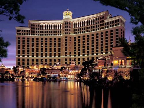The Bellagio hotel in Las Vegas.