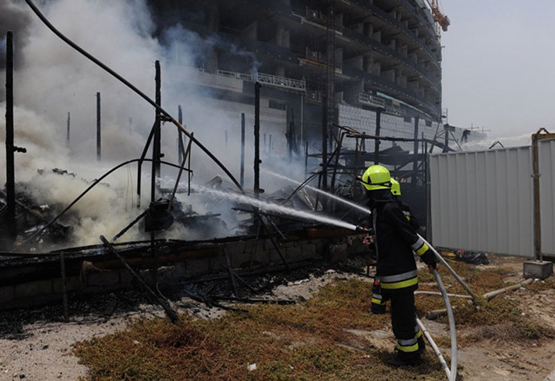 A fire reportedly broke out at Astana's under-construction Abu Dhabi Plaza. [Representational image]