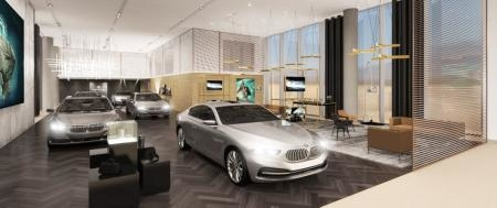 The facility will be the first automotive dealership to open in the area.