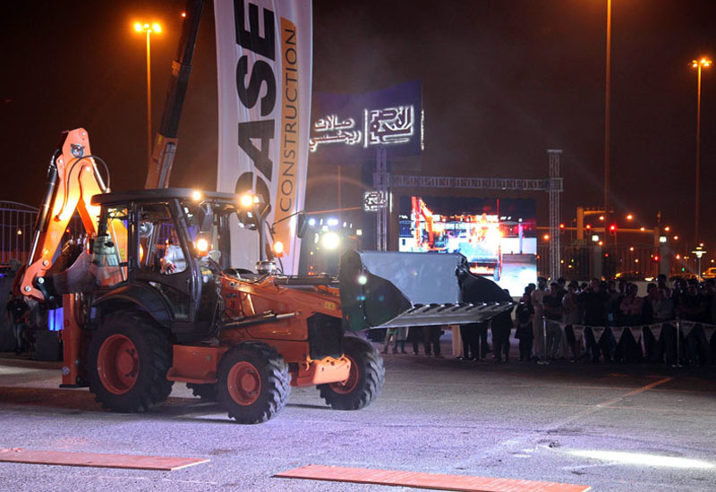 Qatar's construction sector was invited to see first-hand how CASE's high quality range of equipment and its official distributor in Qatar, Nasser Bin Khaled & Sons Heavy Equipment(NBK)can best serve the sector.