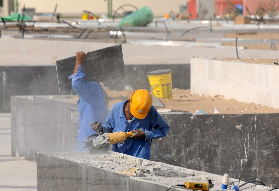 Better education has improved labour conditions for construction workers.