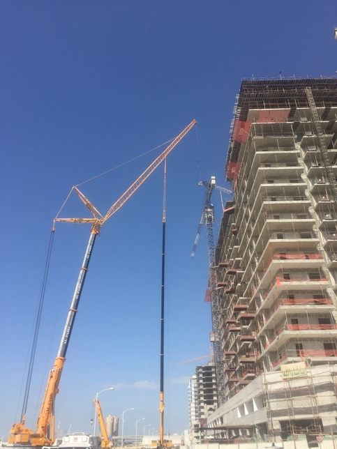 The body of a crane technician who prevented a crane collapse has been recovered.