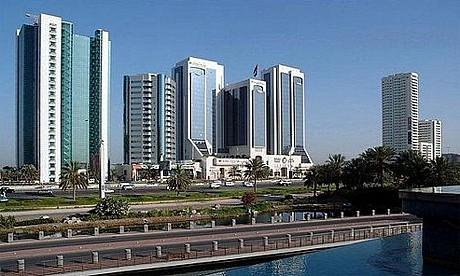 Crowne Plaza Dubai.