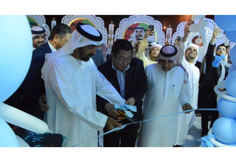 The opening ceremony was attended byHE Sheikh Salem bin Rakkad Al Ameri, a member of UAE Federal National Council.