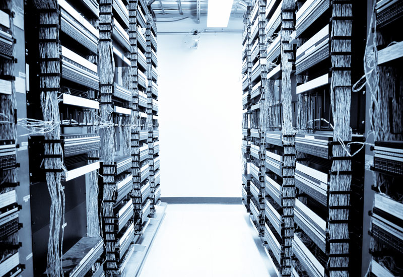 Emerson's Network Power business unit provides power and information management systems for data centres and the telecommunications industry. [Representational image]