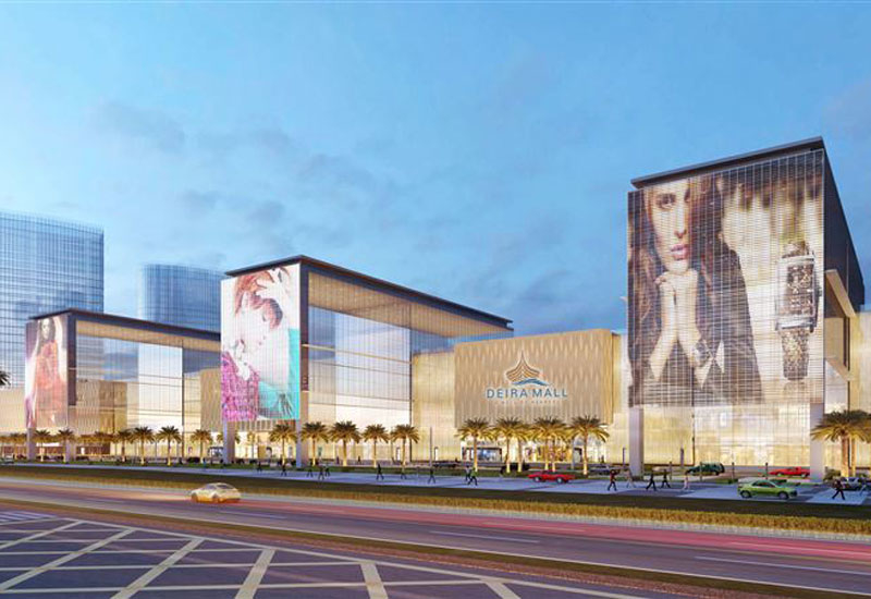 Nakheel's Deira Mall will reportedly see construction completion in 2021 [image: Dubai Media Office].
