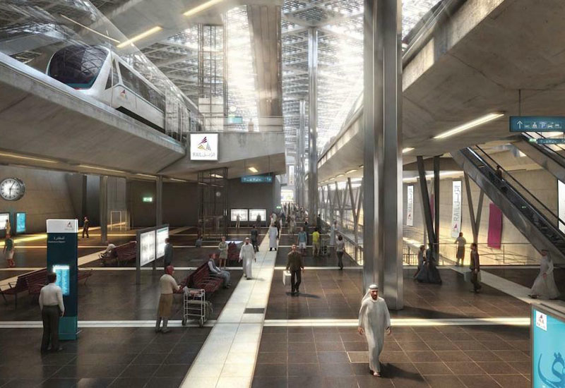 The Doha Metro is due for operation at the end of 2019.