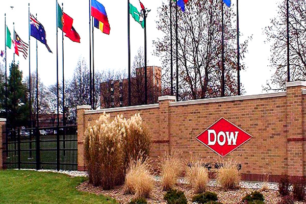 A file picture of the Dow Chemicals headquarters in Midland, Michigan,USA.