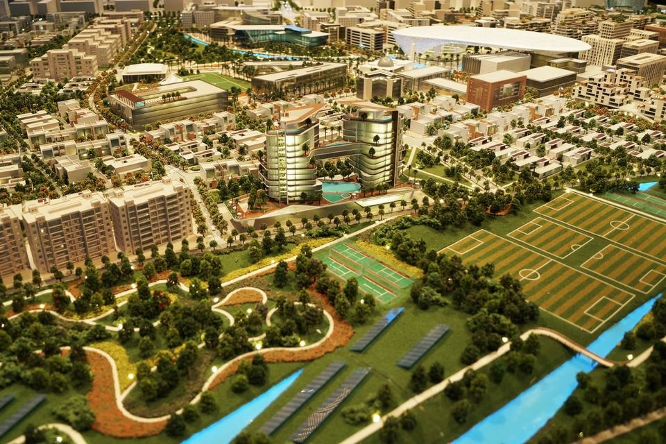 Dubai South's Residential District.