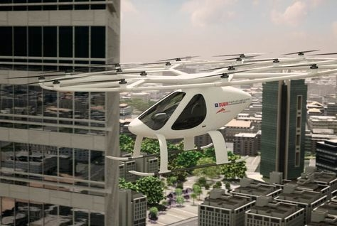 RTA has signed an agreement with Germany-based Volocopter.