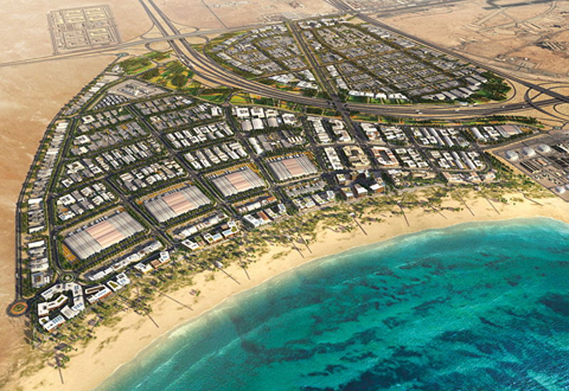 Ras Bufontas Special Economic Zone, adjacent to Hamad International Airport is well located for companies looking for world-class infrastructure and international connectivity. (Image Manateq)