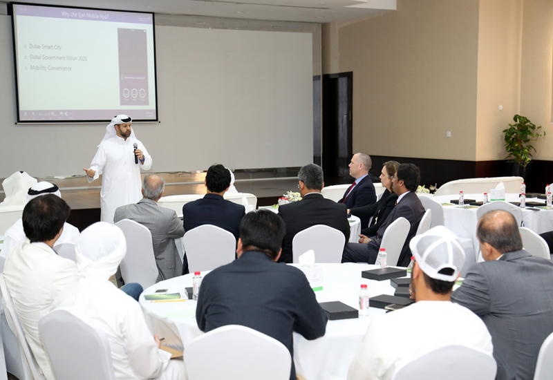 The attendees were provided with an overview on DLD's future direction during the forum.