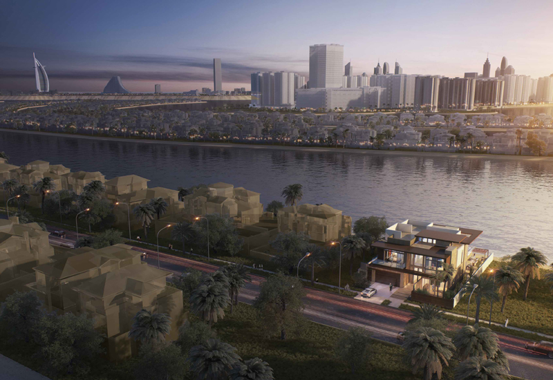 The Ellington Collection at The Palm Island will feature five villas.