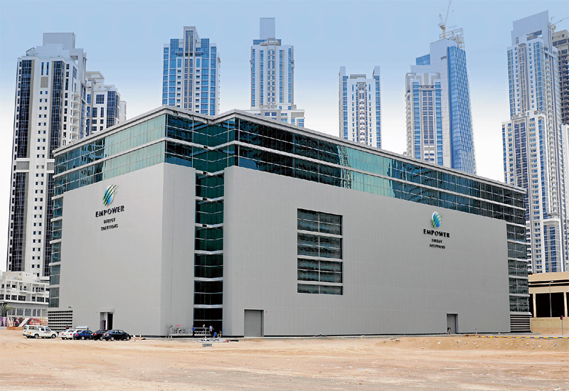 Empower provides district cooling services across notable Dubai developments such as Business Bay and DIFC.