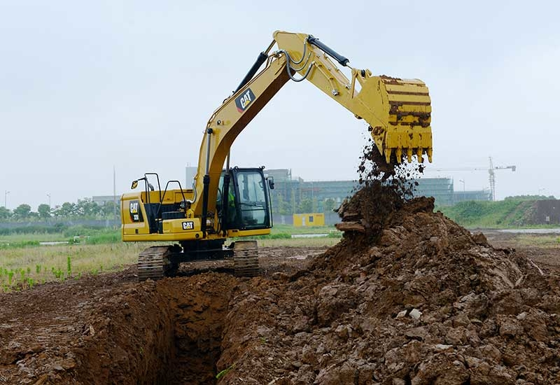 Crawler excavators are popular in construction and mining sites.