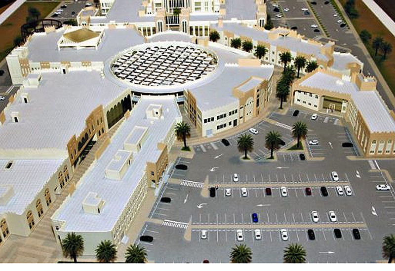 Ezdan Holding Group has said that construction is complete and the complex is expected to open in the coming months.