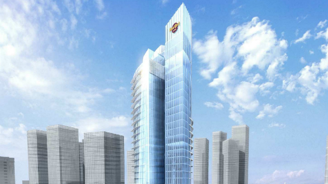 Hard Rock Hotel is one of the properties under construction in Abu Dhabi.