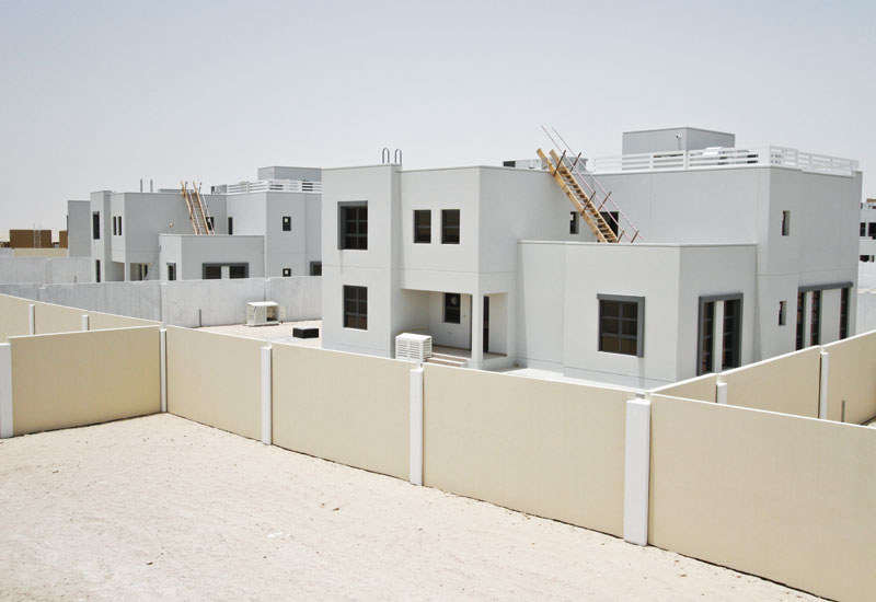 Musanada is developing modern Emirati homes for the Abu Dhabi Housing Authority.
