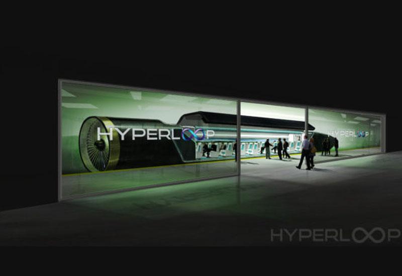 The Hyperloop pod, as envisaged by an artist.