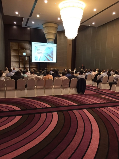 RICS celebrated one year in Doha with a special networking event.
