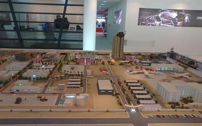 The Jaheziya city is due for operation by Q4 2018. [Image: UAE Interact]