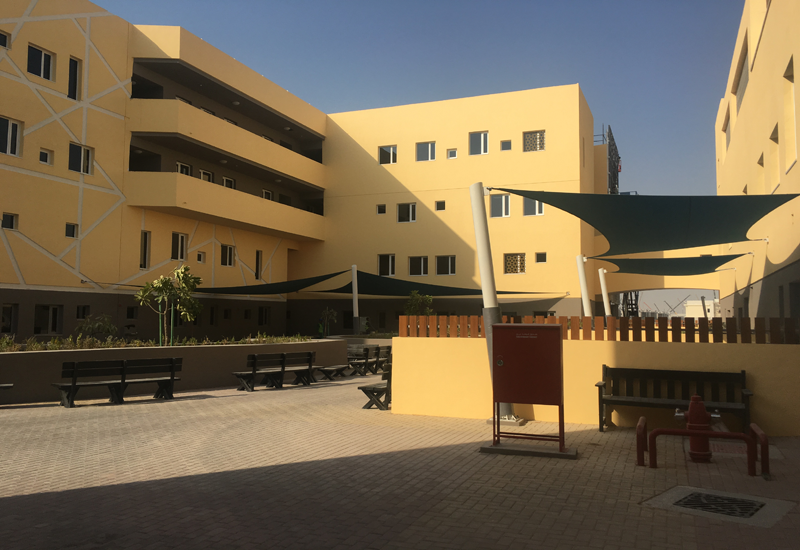 The school is located in the Akoya development in Dubailand.
