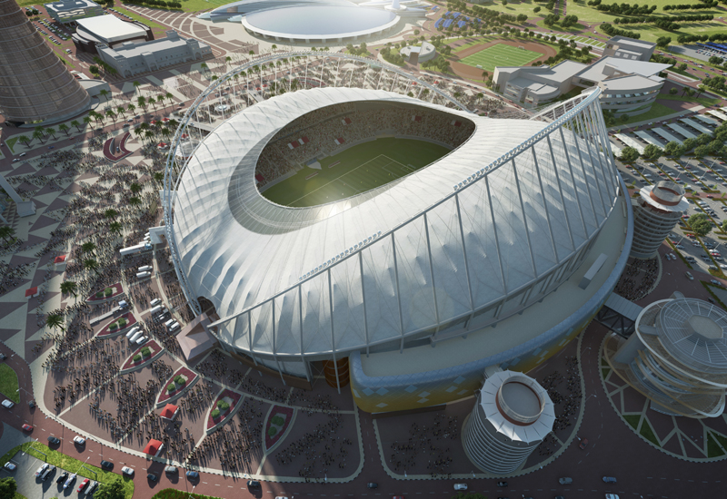 The first venue to open will be Khalifa International Stadium at the end of 2017.