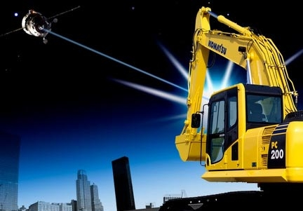 Over 400,000 vehicles are equipped with Komtrax, Komatsu's telematics system.